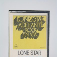 Casetes antiguos - Casete Lone Star. Adelante Rock en Vivo - Orange, 1980 - Cassette / Cinta - 84606812