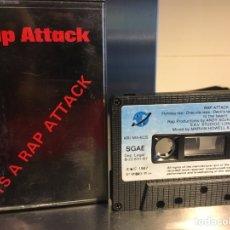 Casetes antiguos: RAP ATTACK. ITS A RAP ATTACK 1987. HIP HOP. CASSETTE. Lote 85544654