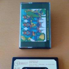 Casetes antiguos: CASSETTE - CASETE KARUMANTA VOL XII. AIRES NUEVOS MUSICA SUDAMERICA ETNICA FOLCLORE. 1993. IMPECABLE. Lote 85731028
