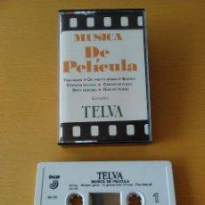 Casetes antiguos: CASSETTE - CASETE - MUSICA DE PELICULA - TELVA - 1991. ESTADO PERFECTO. IMPECABLE. Lote 85731764