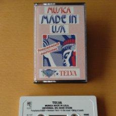Casetes antiguos: CASSETTE - CASETE - MUSICA MADE IN USA - TELVA - 1991. ESTADO PERFECTO. IMPECABLE.. Lote 85731924