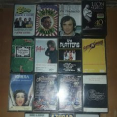 Casetes antiguos: LOTE 16 CASSETTES VER Y LEER. Lote 86010794