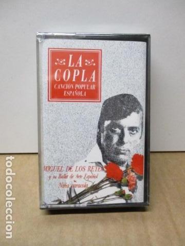 LA COPLA - MIGUEL DE LOS REYES / NIÑA CARACOLA - NUEVO Y PRECINTAD (Música - Casetes)