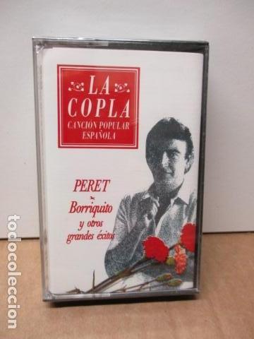 COLECCIÓN LA COPLA. PERET (BORRIQUITO Y OTROS GRANDES EXITOS). CASETE - NUEVO Y PRECINTADO (Música - Casetes)