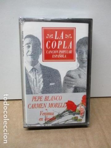 COLECCIÓN LA COPLA. PEPE BLANCO & CARMEN MORELL (VENIMOS EN DESAFIO). CASETE - NUEVO Y PRECINTADO (Música - Casetes)