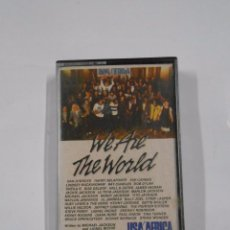 Casetes antiguos: WE ARE THE WORLD - USA AFRICA. CASSETTE. TDKV13. Lote 86190244