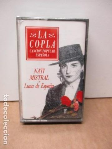 COLECCIÓN LA COPLA. NATI MISTRAL. (LUNA DE ESPAÑA). CASETE - NUEVO Y PRECINTADO (Música - Casetes)