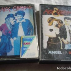 Cassetes antigas: LOTE 2 CSTS ALEX Y CRISTINA. Lote 214328542