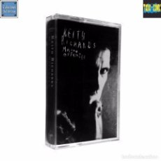 Casetes antiguos: MAIN OFFENDER / KEITH RICHARDS / CINTA CASETE CASSETTE / VIRGIN CAPITOL 1992 (DOLBY SYSTEM). Lote 86719520
