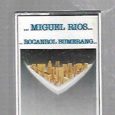 Casetes antiguos: CINTA DE CASETE. MIGUEL RIOS. ROCANROL BUMERANG. 177. POLYDOR. Lote 86804304
