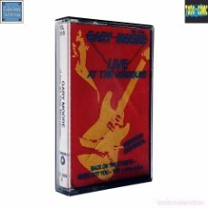 Casetes antiguos: LIVE AT THE MARQUEE / GARY MOORE / CINTA CASETE CASSETTE / JET YELSA 1989 (STEREO). Lote 87132532