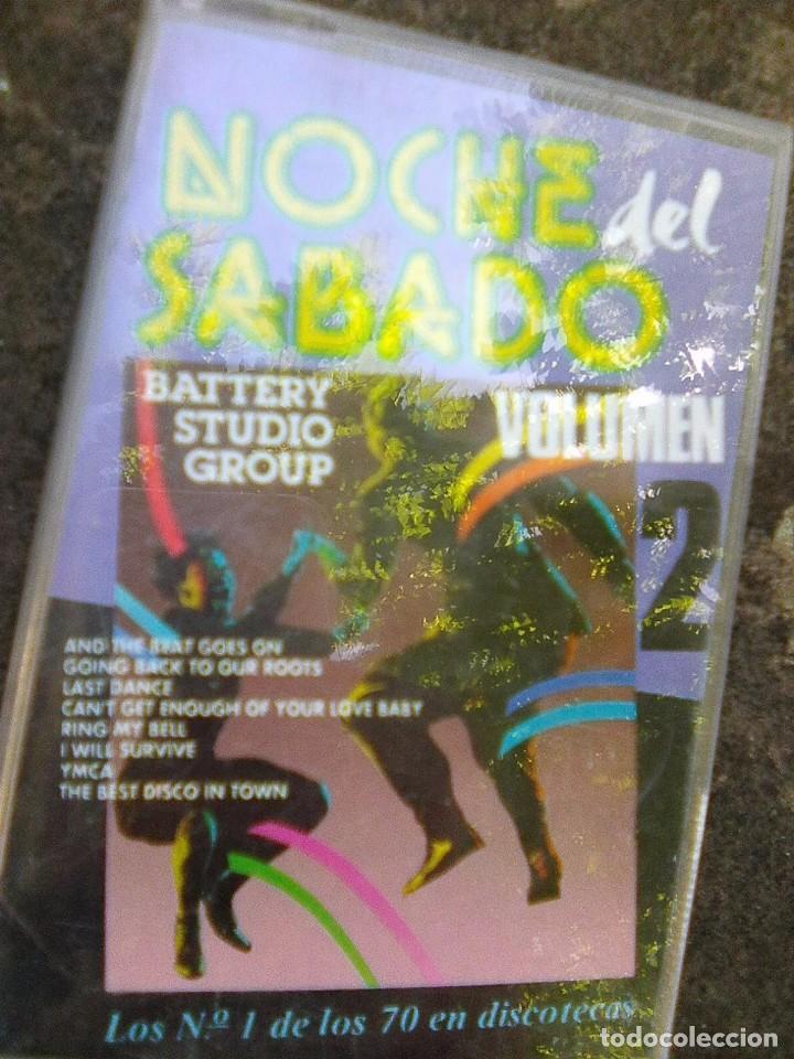 NOCHES DE SÁBADO (EFEN, 1991) BATTERY STUDIO GROUP- NºS 1 EN 70 DISCOTECAS - ESCASA (Música - Casetes)