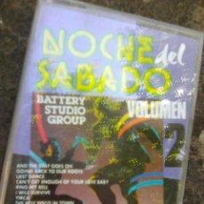 Casetes antiguos: NOCHES DE SÁBADO (EFEN, 1991) BATTERY STUDIO GROUP- NºS 1 EN 70 DISCOTECAS - ESCASA. Lote 87155328
