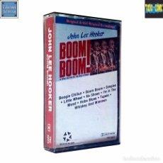 Casetes antiguos: BOOM BOOM / JOHN LEE HOOCKER / CINTA CASETE CASSETTE / YEL STAR 1989 (DOLBY SYSTEM). Lote 87509684