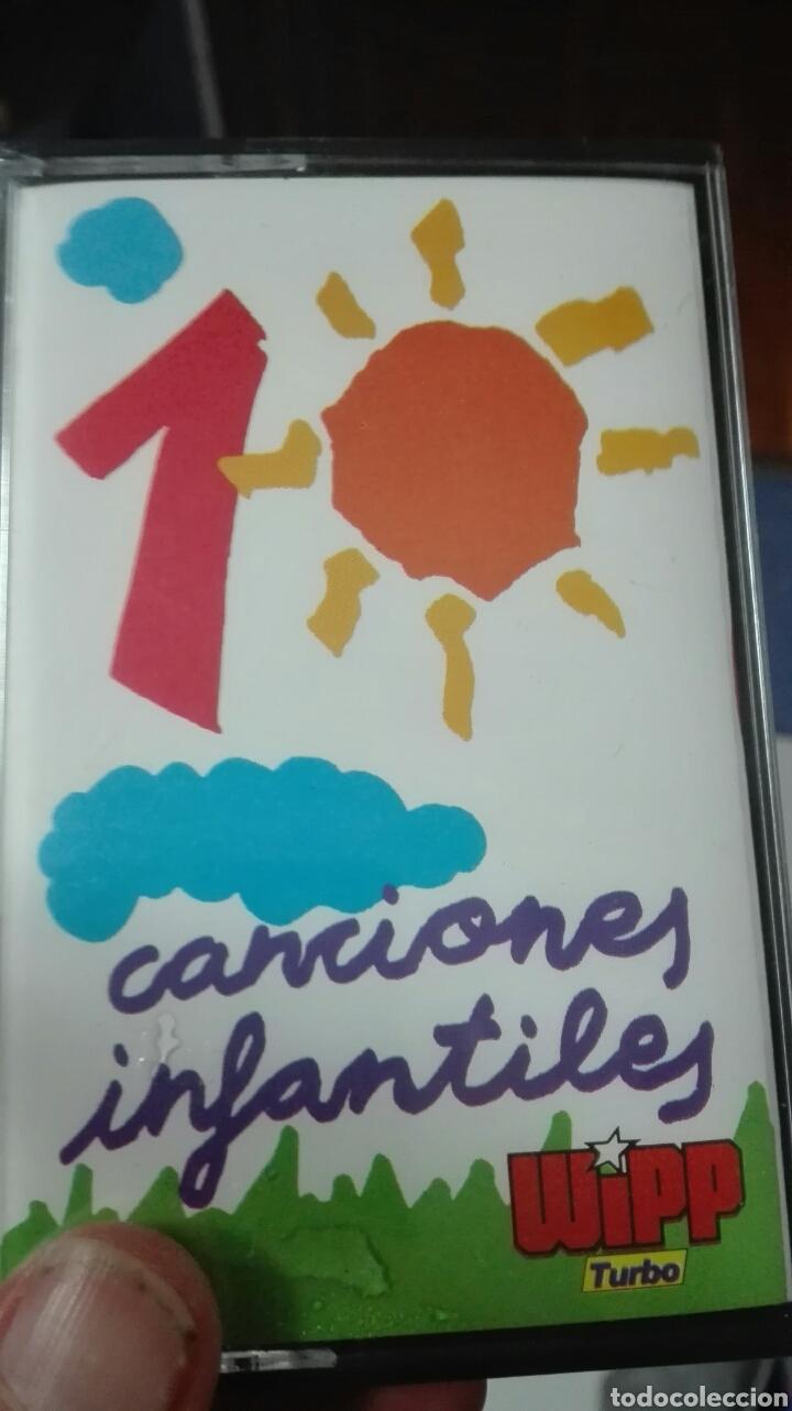 CASETE CANCIONES INFANTILES PRECINTADA (Música - Casetes)