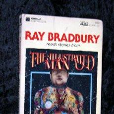 Casetes antiguos: RAY BRADBURY LEE HISTORIAS CORTAS - HOMBRE ILUSTRADO - 2 CASETES - RARO. Lote 81913100