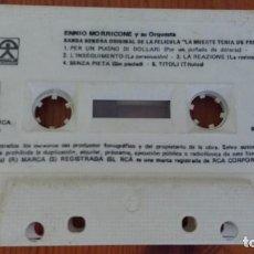 Casetes antiguos: ENNIO MORRICONE Y SU ORQUESTA 1972 LA MUERTE TENIA UN PRECIO. Lote 88907604