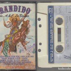 Cassettes Anciennes: BANDIDO LA BIONDA CASSETTE 1979 SEVEN MANOLO GARCÍA. Lote 89805112