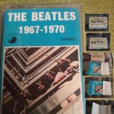 Casetes antiguos: CASETES - THE BEATLES CASETE 1967 1970 ESTEREO - VER FOTOS. Lote 90331960