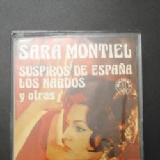 Casetes antiguos: 1 CASETE DE ** SARA MONTIEL - SUSPIROS DE ESPAÑA ... ** - AÑO 1981 - ONDINA - HISPAVOX. Lote 90710710