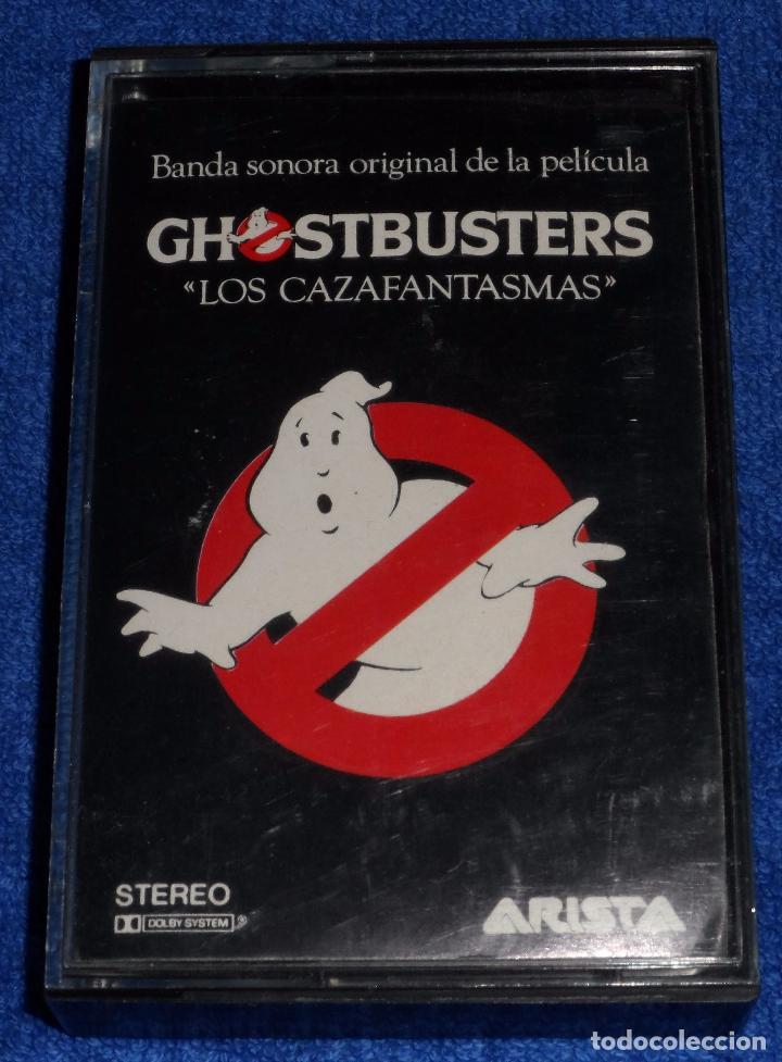 GHOSTBUSTERS - LOS CAZAFANTASMAS - CASSETTE (Música - Casetes)
