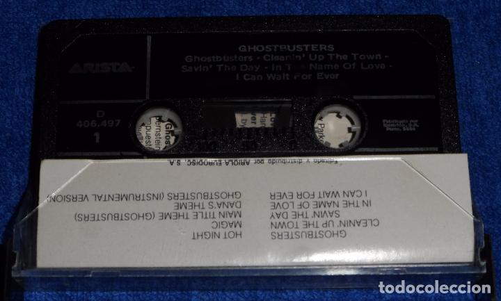 Casetes antiguos: Ghostbusters - Los Cazafantasmas - Cassette - Foto 2 - 90861840