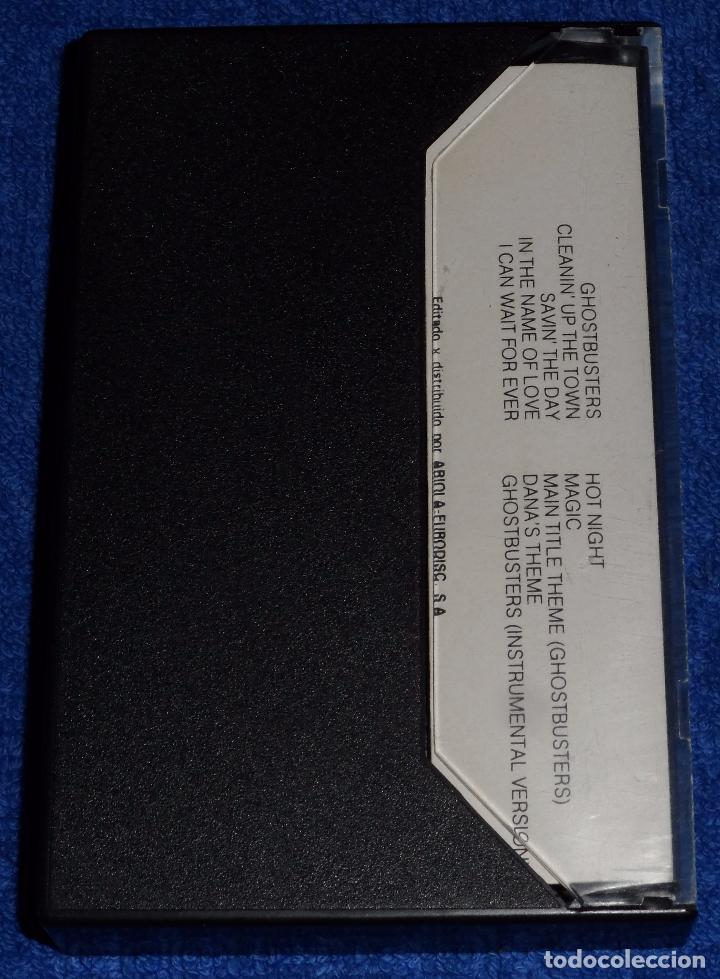 Casetes antiguos: Ghostbusters - Los Cazafantasmas - Cassette - Foto 3 - 90861840