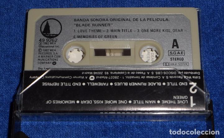 Casetes antiguos: Blade Runner - Cassette - Foto 2 - 90861985