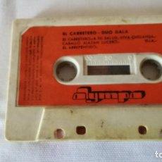 Casetes antiguos: 2-EL CARRETERO, DUO GALA, 1976, SIN CAJA. Lote 91255295