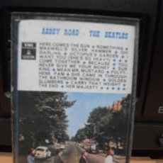 Casetes antiguos: THE BEATLES - ABBEY ROAD (CASSETTE EMI-ODEON 1970 ESPAÑA) 1ª EDICION. Lote 91860100