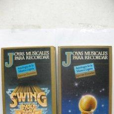 Casetes antiguos: JOYAS MUSICALES PARA RECORDAR 6 CASETES 1930 1940 ÉXITOS DE AYER. Lote 94242915