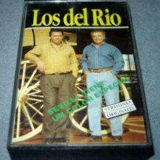 Cassettes Anciennes: ANTIGUA CINTA DE CASETE CASSETTE LOS DEL RÍO SEVILLA TIENE UN COLOR ESPECIAL. Lote 94717447