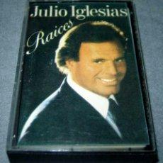 Cassettes Anciennes: ANTIGUA CINTA DE CASETE CASSETTE JULIO IGLESIAS RAÍCES. Lote 94720207