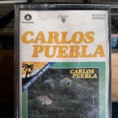 Casetes antiguos: CARLOS PUEBLA. CINTA CASSETTE CASETE CASSETE CASETTE. Lote 94785768