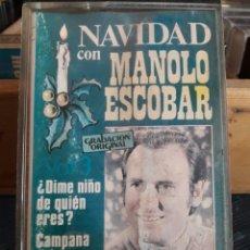 Casetes antiguos: MANOLO ESCOBAR. CINTA CASSETTE CASETE CASSETE CASETTE. Lote 94805952