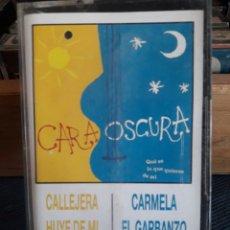 Casetes antiguos: CARAOSCURA. CINTA CASSETTE CASETE CASSETE CASETTE. Lote 94809306