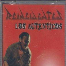 Casetes antiguos: REINCIDENTES - LOS AUTÉNTICOS - CASETE - DISCOS SUICIDAS 1998 - EDICIÓN ESPAÑOLA. PRECINTADA.. Lote 95239943