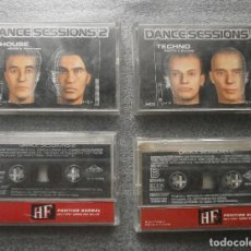 Casetes antiguos: VARIOUS - DANCE SESSION 2 (4 CASSETTE). Lote 95399755