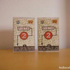 Casetes antiguos: CASETE - PISTA 2 - VOLUMEN 1 Y 2 - 1994 - K7 - TAPE - CASETTE. Lote 96025243