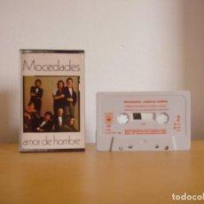 Casetes antiguos: CASETE - MOCEDADES - AMOR DE HOMBRE - 1982 - K7 - TAPE -CASETTE. Lote 96026203