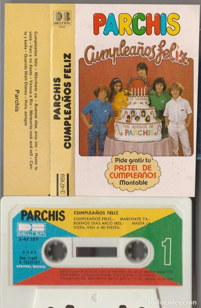 Parchis Cumpleanos Feliz Cassette Belter 198 Sold Through