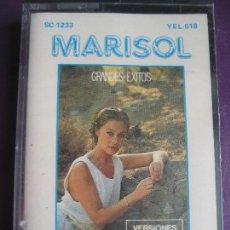 Casetes antiguos: MARISOL - PEPA FLORES CASETE ZAFIRO - GRANDES EXITOS - 8 TEMAS CLASICOS. Lote 96906515