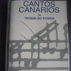 Casetes antiguos: CANTOS CANARIOS DE TEOBALDO POWER CASETE MANZANA - ORQUESTA SINFONICA TENERIFE - FOLK CANARIAS. Lote 96910443