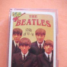 Casetes antiguos: THE BEATLES STARS OF 63 - 65 CASSETTE ITALIANA 1993 PDELUXE. Lote 97730531