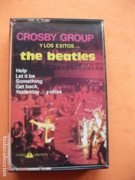 Casetes antiguos: CROSBY GROUP - BEATLES COVER HOMENAJE A LOS BEATLES CASSETTE SPAIN 1989 PDELUXE - Foto 1 - 97731307