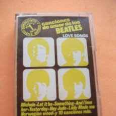 Casetes antiguos: TOM SPENCER & THE LIVERPOOL GROUP LOVE SONGS - COVER BEATLES CASSETTE SPAIN 1978 PDELUXE. Lote 97734867