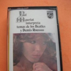 Casetes antiguos: ORQUESTA PAUL MAURIAT TEMAS BEATLES & D. ROUSSOS CASSETTE SPAIN 1975 PDELUXE. Lote 97734963