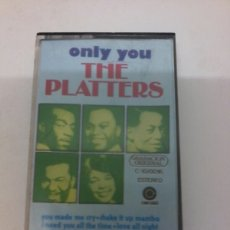 Casetes antiguos: THE PLATTERS. Lote 97857511