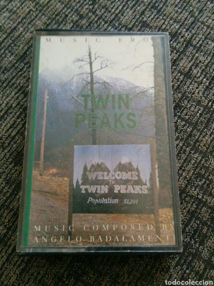 TWIN PEAKS BSO CASETE DAVID LYNCH (Música - Casetes)