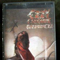 Cassette antiche: OZZY OSBOURNE – BLIZZARD OF OZZ CASSETTE - RANDY RHOADS/BLACK SABBATH. Lote 98139319